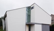 Crepi pour une villa moderne dans Humbeek