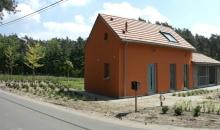 Landelijke woning - bepleister in kleur